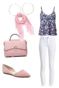 """Untitled #121"" by wendy-ch on Polyvore featuring Miss Selfridge, WithChic, Anita Ko, Fendi and Barbour"