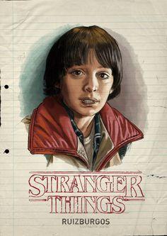 STRANGER THINGS - WILL by RUIZBURGOS on DeviantArt