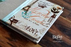 Hermoso libro de firmas temático.. Ideas, Vintage Trends, Vintage Paris, Signature Book, Invitations, Meet, Thoughts