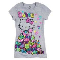 """""""Dulce"""" means """"Sweet""""! Hope you have the sweetest day ever wearing this #hellokitty tee!"""