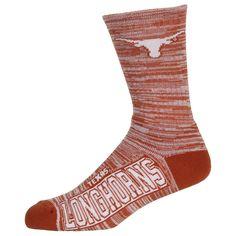 University of Texas Longhorns Team Logo NCAA Socks #deuce #504RMC #forbarefeet #college #sports #texassports