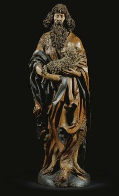 St John the Baptist, by the Master of the Harburger Altar, c. 1515.
