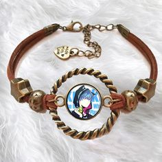 CosEnter Anime Kuroko No Basuke Logo Bracelet Cosplay D Style * Read more reviews of the product by visiting the link on the image.