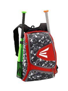 Easton Baseball Softball Backpack Bat Bag White Snow Camo Digital NEW b3a3697900255