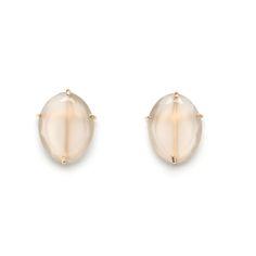 jane pope moonstone 14kt stud earring