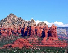 The town of Sedona
