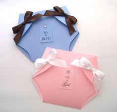 25 pantalones pañal bebé ducha Invitaions invitación de