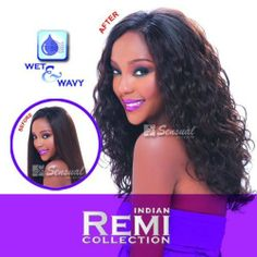 """Indian Remy Remi Body Wave Hair Extension Weave,18"""" Color #1b Off Black 100% Human Hair By Sensual by Sensual Collection. $66.99. 18"""" #1b Off Black. High Quality Hair Extension. Tangle Free!. Wet and Wavy. If you are looking for gorgeous Indian Remy hair that is always soft and beautiful. You've found it! You will love the body and natural movement of this premium quality human hair. Because the cuticles are intact and go in the same direction, the hair has a beautiful ..."""