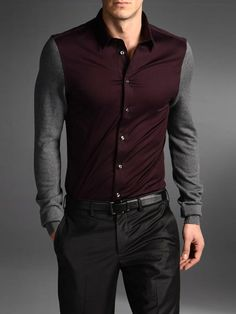LONG SLEEVE SHIRT- That looks interesting... Idk what i would wear it with though.