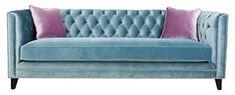 Pasargad Carpets SOFA-1010 Grey Victoria Velvet Sofa Collection, 33