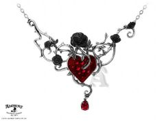 Bed Of Blood-Roses Swarovski Pendant by Alchemy of England - The perfect Valentine's Day gift for my Honey!