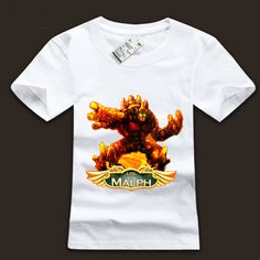 League of Legends LOL Malphite Short Sleeve T-Shirt - See more at: http://www.lolamz.com/league-of-legends-lol-malphite-short-sleeve-tshirt-p-3367.html