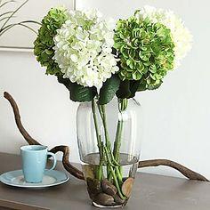 """27,6 """"korkea laatu keinotekoinen hydrangea silkki kukka sisustus (lisää värejä) 2840817 2016 – hintaan €8.81"""