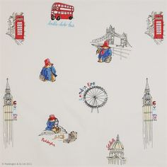 London Sights Paddington Bear Wallpaper
