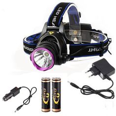 6000 Lumens CREE XM L XML T6 LED Headlamp Headlight Flashlight Head Lamp Light + 2*18650 battery + charger + Car Charger-in Headlamps from Lights & Lighting on Aliexpress.com | Alibaba Group