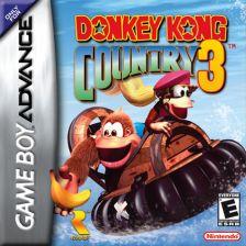 Donkey Kong Country 3 Nintendo Game Boy Advance cover artwork