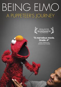 I watched this wonderful documentary the other night which chronicles the life, dream and career of puppeteer Kevin Clash, the man behind Elmo from Sesame Street.  Easily one of the best documentaries I've ever seen.