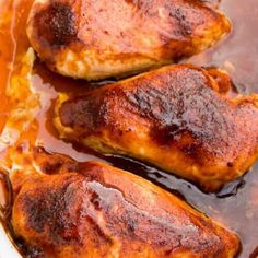 Baked BBQ Chicken • The Diary of a Real Housewife Almond Recipes, Yummy Recipes, Fall Recipes, Dinner Recipes, Baked Chicken Breast, Grilled Chicken Recipes, Bbq Chicken, Chicken Legs, Tasty Dishes
