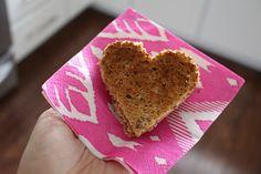 Heart Shaped Breakfast Toast Sandwiches // Lemon Drop Love // sharing the love.