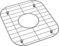 "Elkay GBG2416SS 22-3/4"" L x 14-3/4"" W Bottom Basin Sink Rack Stainless Steel Accessory Basin Rack Stainless Steel"
