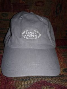 NEW Land Rover hat grey cotton ce0e5cb796c7