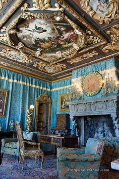 The Doge's Room at Hearst Castle, San Simeon, California