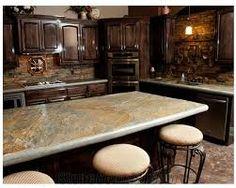 Kitchen Backsplash Stone stone kitchen backsplashes made of granite, marble, slate