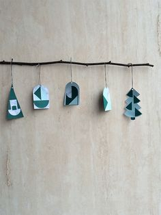 Make Your Own Minimalistic Christmas Decorations + code- Petit & Small