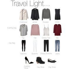 Travel Light...
