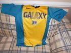 For Sale - Los Angeles Galaxy teal/gold soccer jersey sz S  -  See More at http://sprtz.us/LAGalaxy