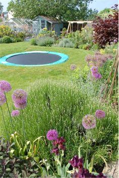 Garden Design With Trampoline sunken trampoline - great idea. | backyard | pinterest | sunken