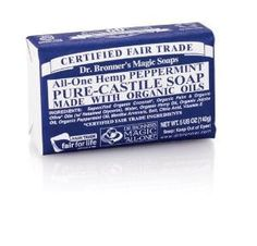 Dr Bronner Pure Castile soap bar| new favorite dreadlock soap + everything else soap! Great for so many things