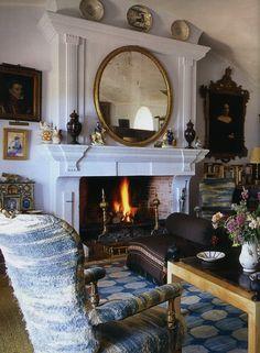 Jamie Parladé's ancestral estate, Aalcuzcuz. Photo by Ricardo Labougle, World of Interiors Oct 2012.