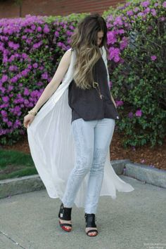 I LOVE this outfit.  Orchid Grey