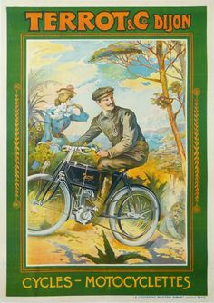 CYCLES ET Motocyclettes TERROT DIJON