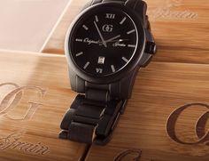 Black Creative Original Grain Watches