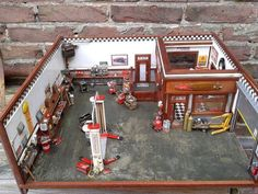 garage diorama fully detailed and fully scratch build ... - Page 26 - Dioramas - Model Cars Magazine Forum