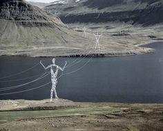 Na Islândia, arquitetos transformam torres de energia em incríveis esculturas                                                                                                                                                      Mais