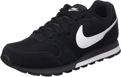 innovative design 88d7a 2a8a4 Nike Md Runner 2, Zapatillas de Running Hombre, Negro Blanco Gris (
