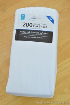 [step 1] DIY guide for curtains made from flat sheets *new sew* *pre-hemmed*