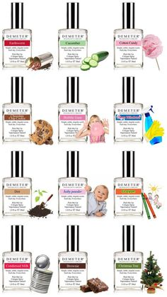 Demeter fragrances - some are gross but others are amazing - my favorites