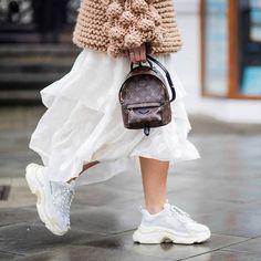BALENCIAGA TRIPLE S - WHITE #BALENCIAGA #sneakers