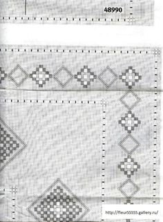 Gallery.ru / Фото #32 - Rico 59, 60, 61 - Fleur55555 Crochet Borders, Crochet Stitches, Bobbin Lace Patterns, Lacemaking, Archive, Kids Rugs, Crafts, Albums, Type