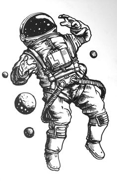 Space Drawings, Cool Art Drawings, Pencil Art Drawings, Art Drawings Sketches, Tattoo Sketches, Tattoo Drawings, Ink Illustrations, Tattoo Ink, Grey Tattoo
