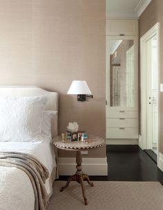 Walk In Closet Behind Bed Lights 56 Ideas Closet Bedroom, Home Bedroom, Bedrooms, Bedroom Photos, Master Bedroom, Bedroom Sconces, Bedroom Divider, Bedroom Brown, Hall Closet