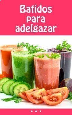 Batidos para bajar de peso recetas de ensaladas