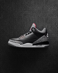 The Black Cement Air Jordan 3. Ounce · Sneakers 862d3de9a