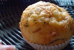 Sajtos-hagymás muffin