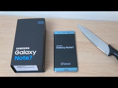 Interesting videos: Samsung Galaxy Note 7 Blue - Unboxing & First look...