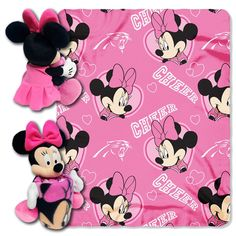 Use this Exclusive coupon code: PINFIVE to receive an additional 5% off the Carolina Panthers Minnie Mouse Hugger with Throw at SportsFansPlus.com